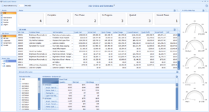 The ABM Job Order Status Dashboard shows important information about all Jobs